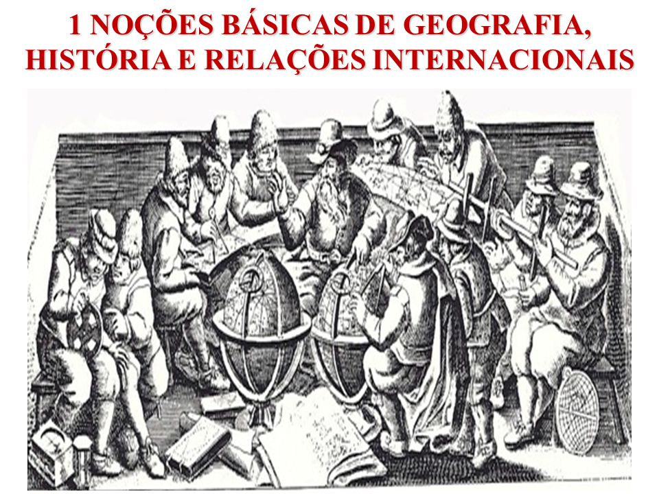 MAPA DA GEOGRAFIA FÍSICA