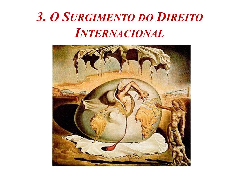 3. O S URGIMENTO DO D IREITO I NTERNACIONAL