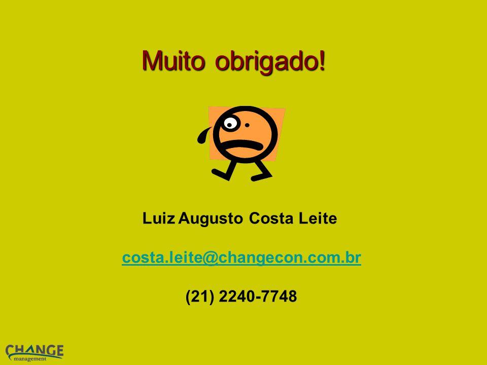 Luiz Augusto Costa Leite costa.leite@changecon.com.br (21) 2240-7748 costa.leite@changecon.com.br Muito obrigado!
