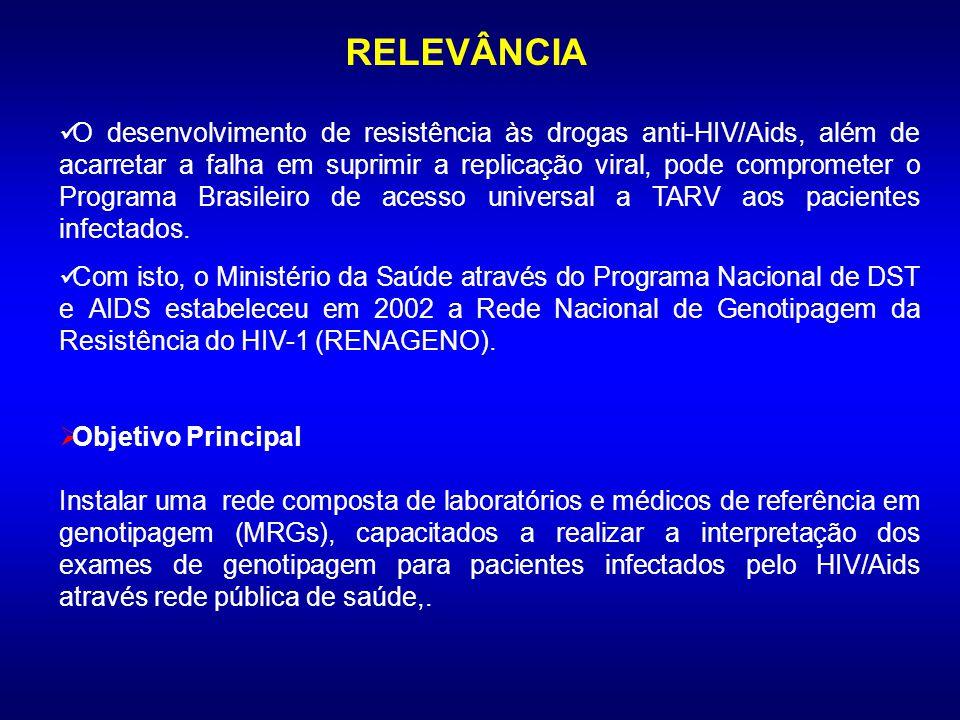 Programa Brasileiro para Terapia anti-HIV/AIDS Entre os diferentes programas conduzidos pelo Programa Nacional de DST e Aids-MS para pessoas vivendo c