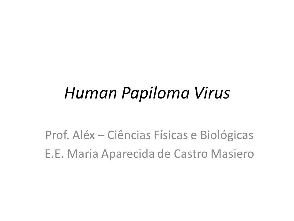 Human Papiloma Virus Prof. Aléx – Ciências Físicas e Biológicas E.E. Maria Aparecida de Castro Masiero