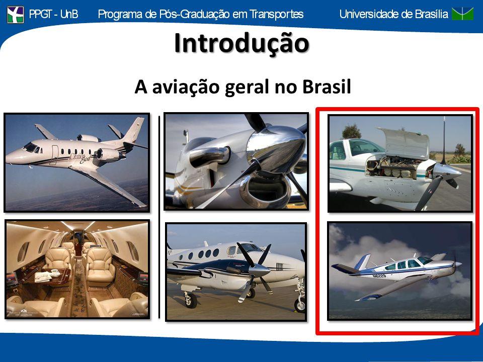 Introdução A aviação geral no Brasil