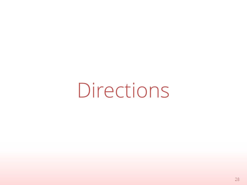 Directions 28