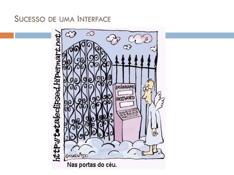 S UCESSO DE UMA I NTERFACE