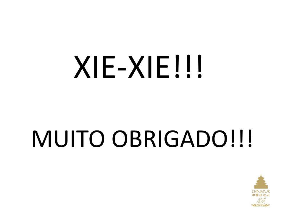 XIE-XIE!!! MUITO OBRIGADO!!!