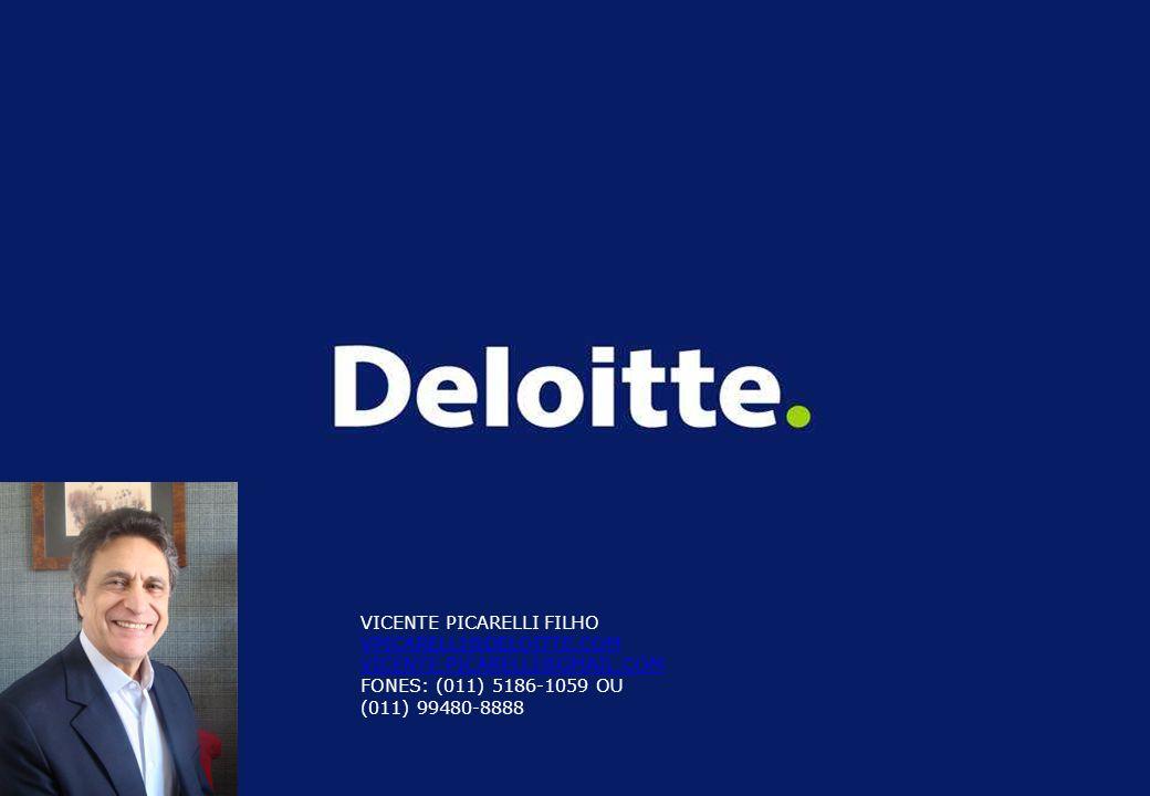 19 VICENTE PICARELLI FILHO VPICARELLI@DELOITTE.COM VICENTE.PICARELLI@GMAIL.COM FONES: (011) 5186-1059 OU (011) 99480-8888