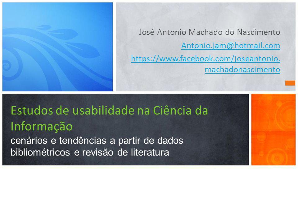 José Antonio Machado do Nascimento Antonio.jam@hotmail.com https://www.facebook.com/joseantonio.
