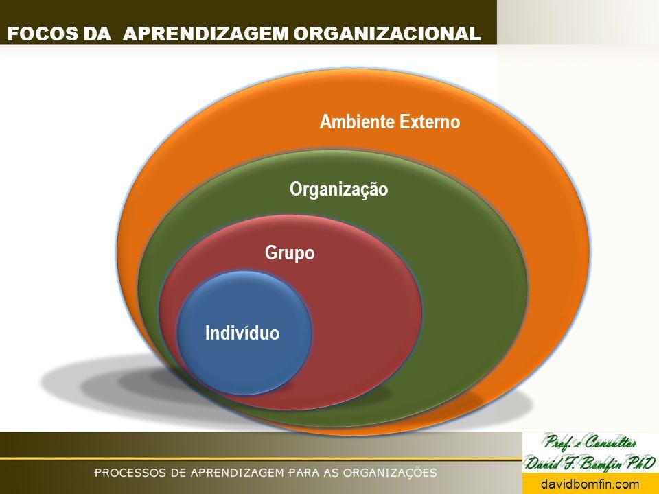 FOCOS DA APRENDIZAGEM ORGANIZACIONAL davidbomfin.com