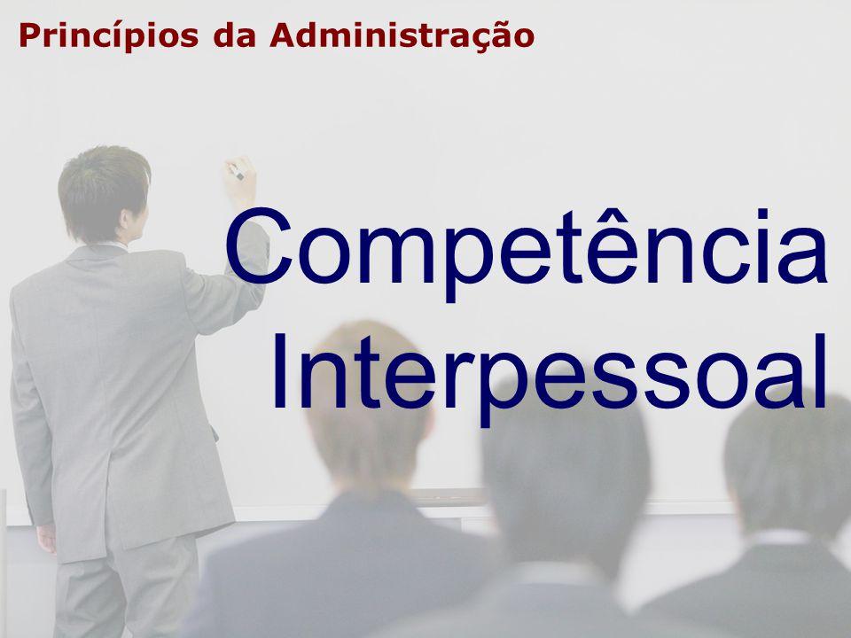 Princípios da Administração Competência Interpessoal