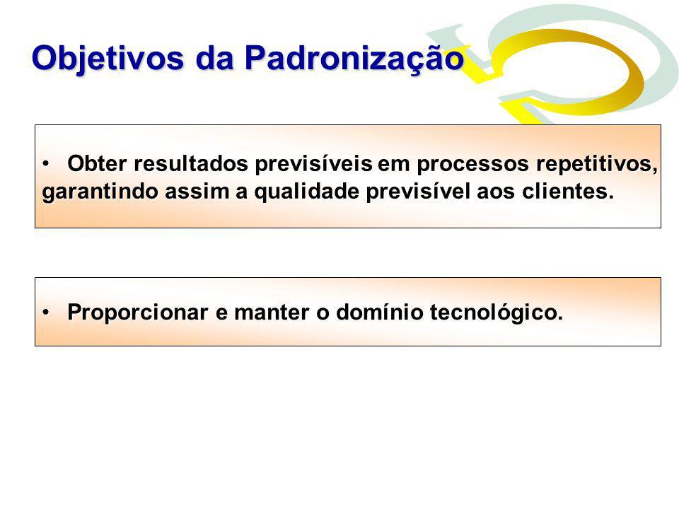 Obter resultados previsíveis em processos repetitivos,Obter resultados previsíveis em processos repetitivos, garantindo assim a qualidade previsível a