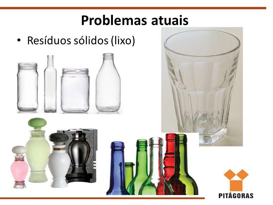 Resíduos sólidos (lixo) Problemas atuais