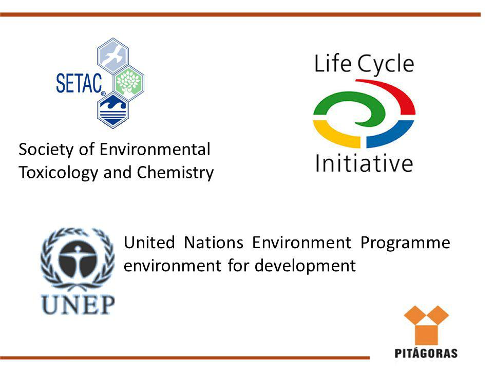 Society of Environmental Toxicology and Chemistry United Nations Environment Programme environment for development
