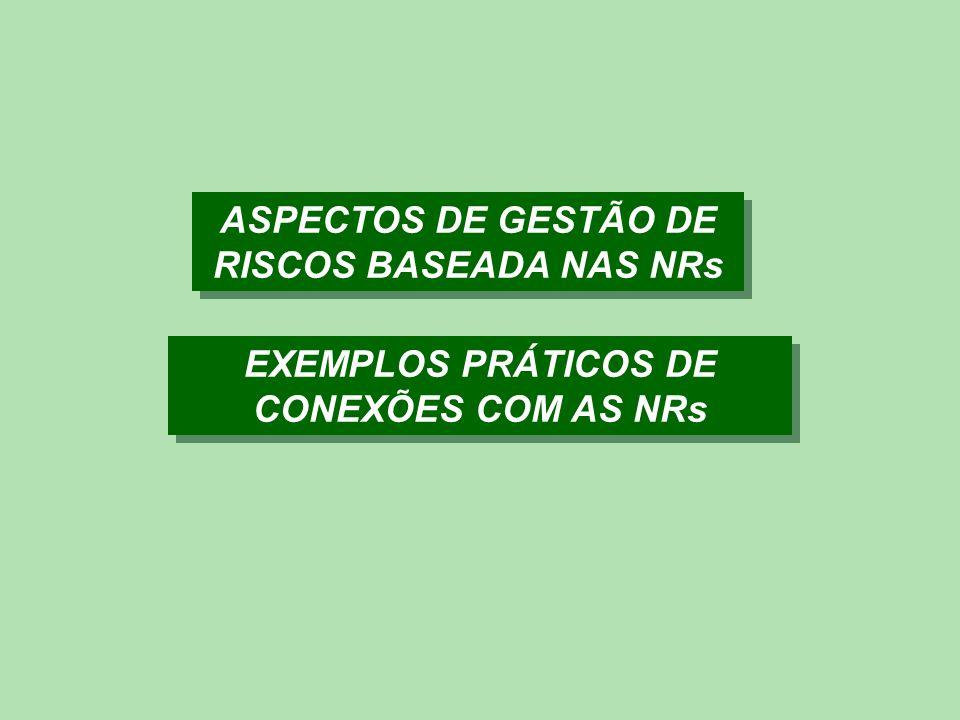 Metodologia da Auditoria de Riscos e Proteção O custo fiscal ideal deveria tender para zero, ou seja, ausência de potencial de custo fiscal para a empresa em relação às exigências das NRs.