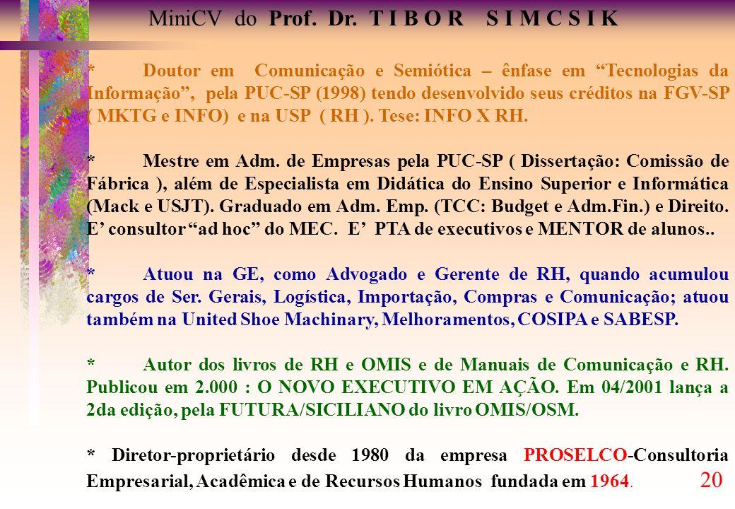 MiniCV do Prof.Dr.