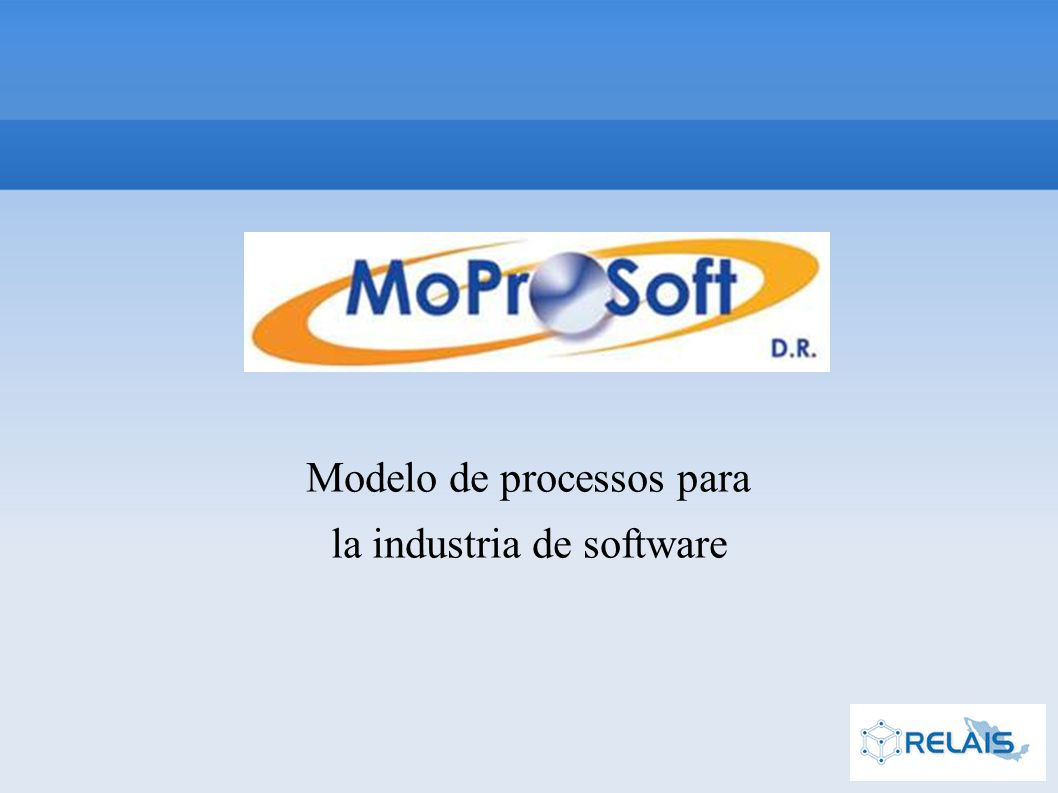 Modelo de processos para la industria de software