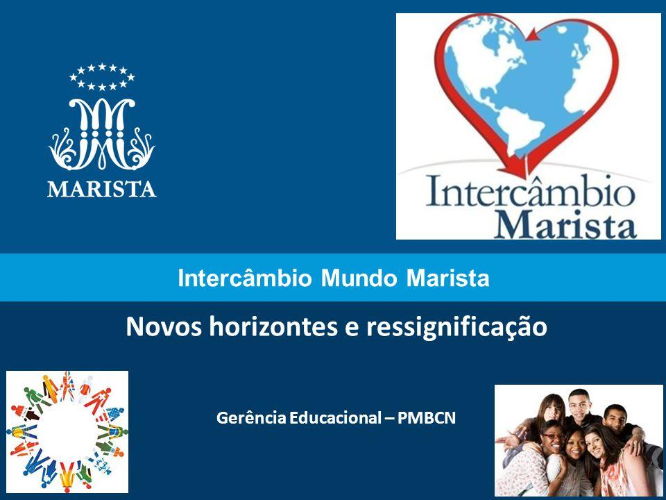 Intercâmbio Mundo Marista Novos horizontes e ressignificação Gerência Educacional – PMBCN