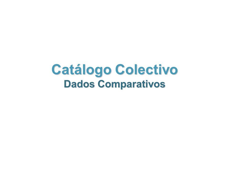 Catálogo Colectivo Dados Comparativos