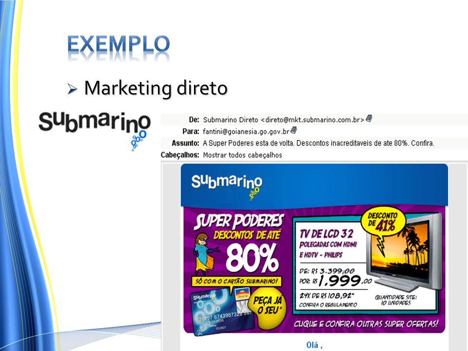  Marketing direto