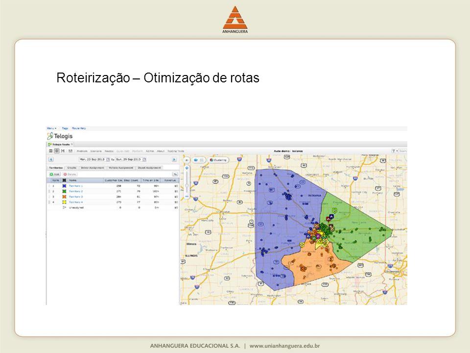 Roteirização – Otimização de rotas