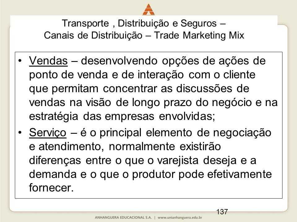 137 Vendas – desenvolvendo opções de ações de ponto de venda e de interação com o cliente que permitam concentrar as discussões de vendas na visão de