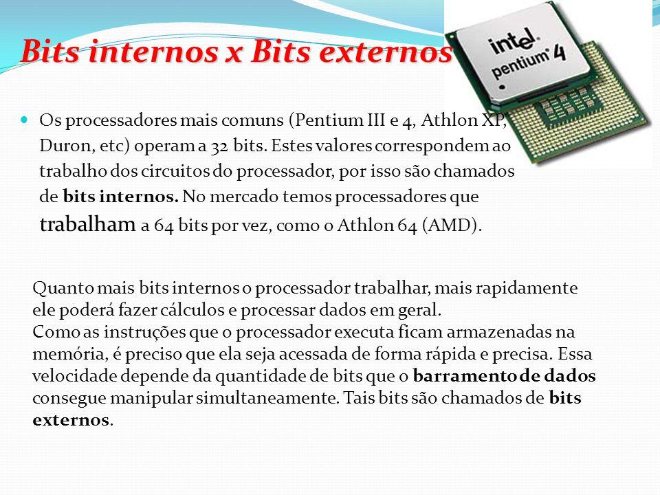 Padrões mais conhecidos: USB ( Universal Serial Bus ): porta serial de alta velocidade que permite a conexão de vários periféricos externos à placa mã