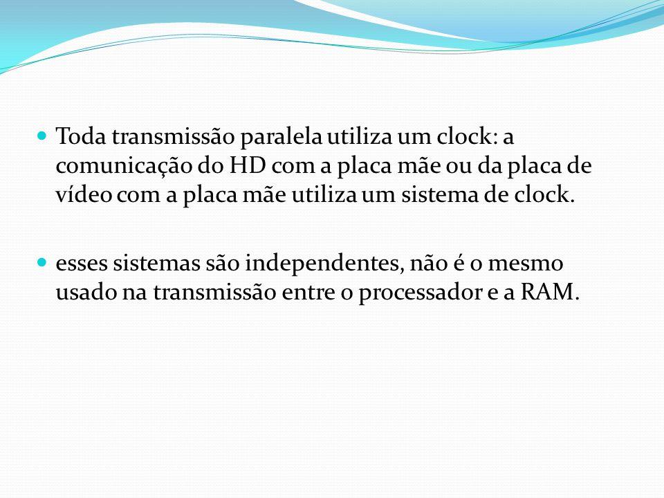O clock estampado nos processadores é usado somente internamente, dentro do processador. Ex.: Em um Pentium III 700, internamente o processador opera