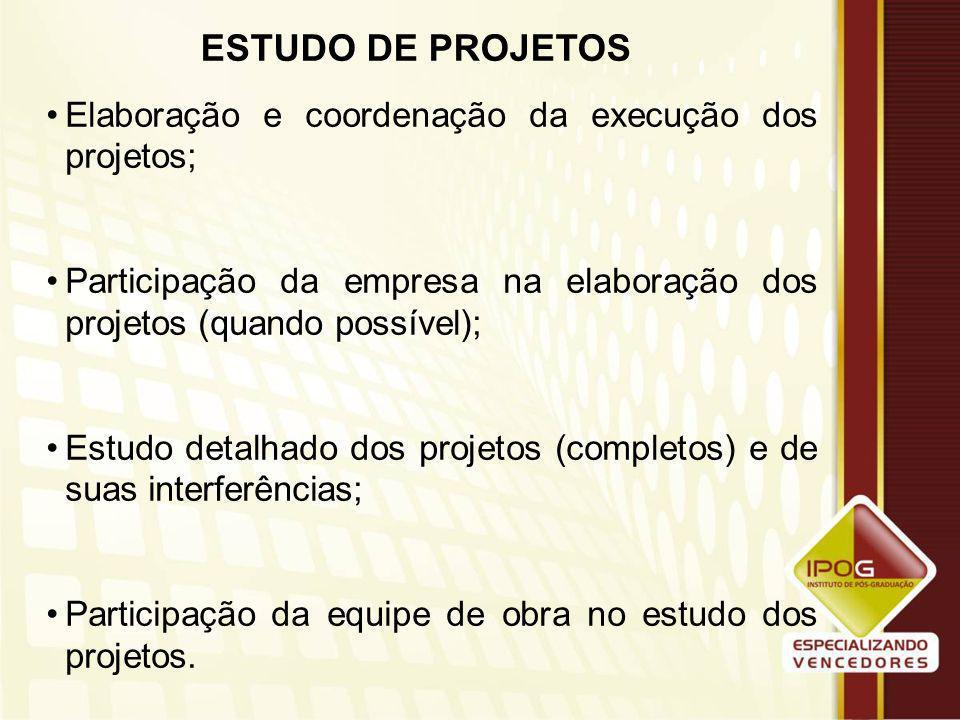 Ferramentas Necessárias ao Gerenciamento do Empreendimento Projetos completos; Quantitativos dos serviços; Orçamento da obra; Índices de produtividade