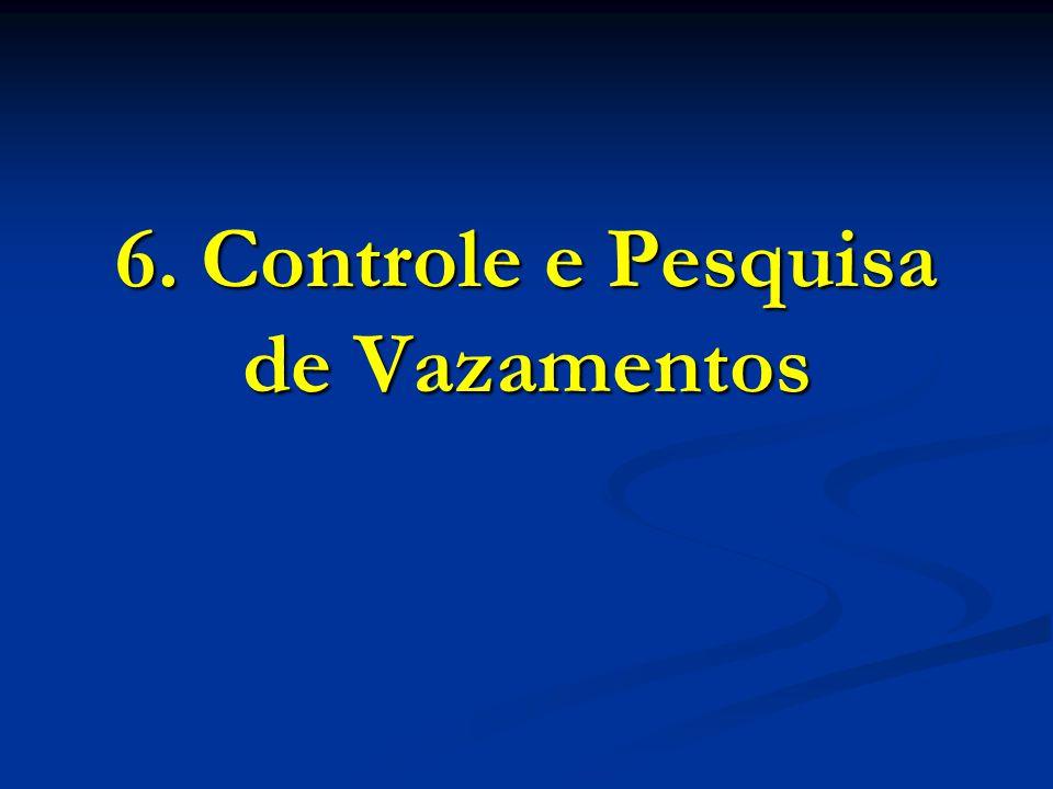 6. Controle e Pesquisa de Vazamentos