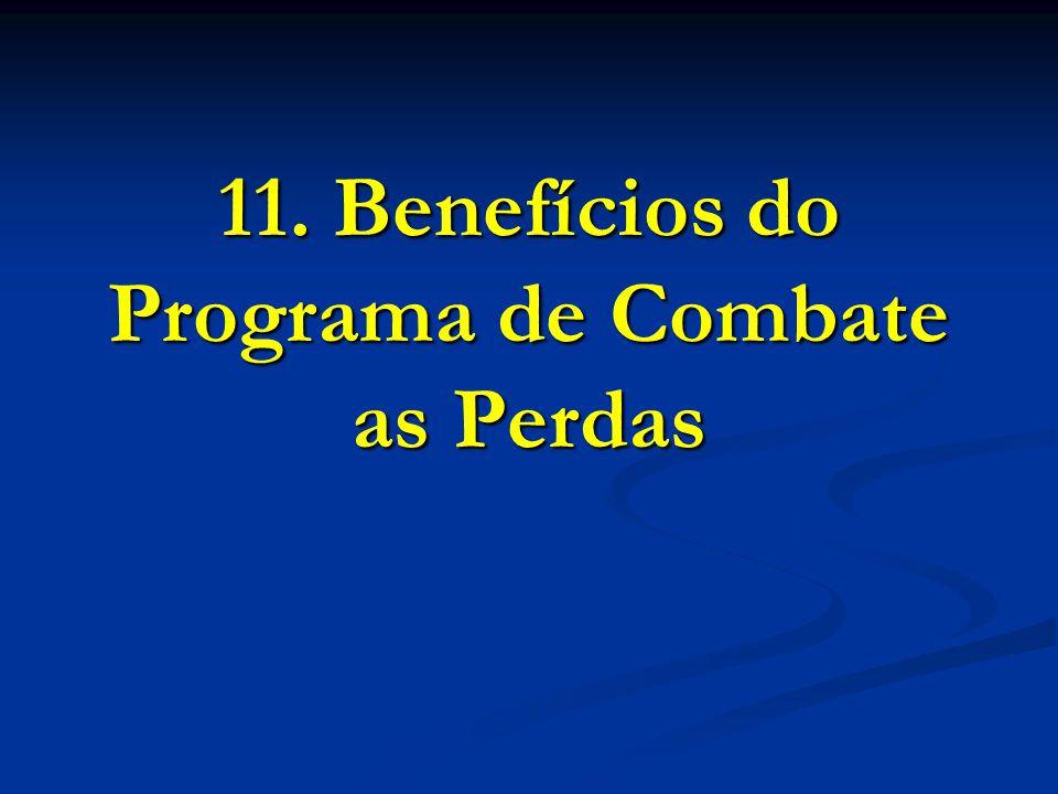 11. Benefícios do Programa de Combate as Perdas