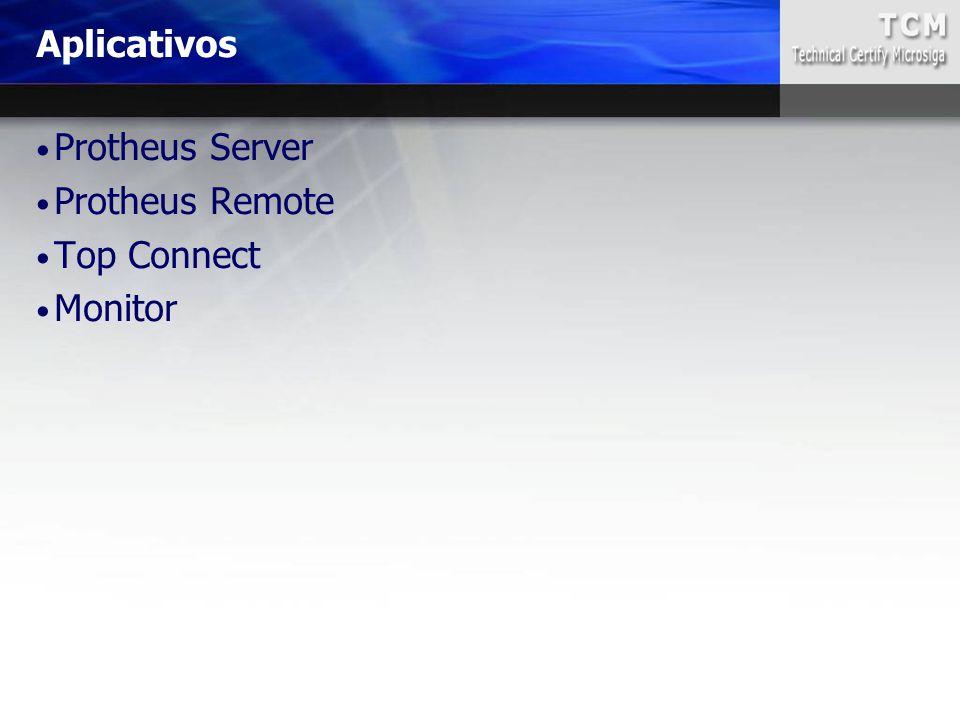 Protheus Server Protheus Remote Top Connect Monitor Aplicativos