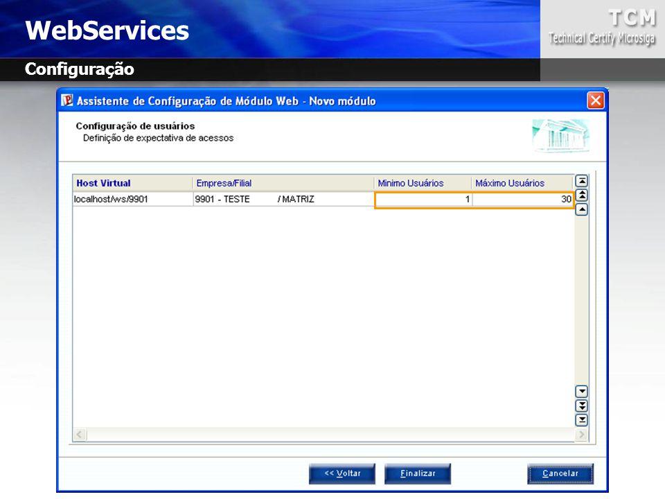 WebServices Configuração