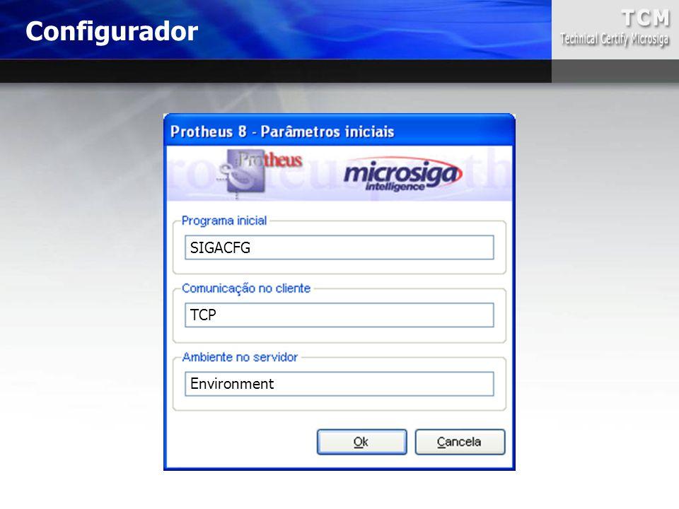 SIGACFG TCP Environment Configurador