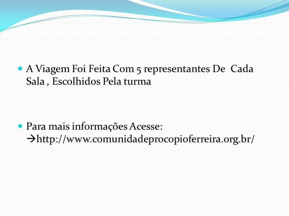 A Viagem A Viagem P/ Salesopólis Foi Realizada Pelo Ponto De Cultura Casa dos Meninos em Parceria Com A EMEF Procópio Ferreira.