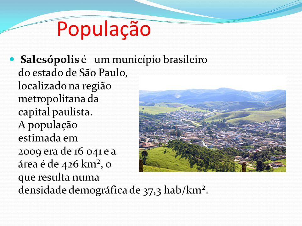 População Salesópolis é um município brasileiro do estado de São Paulo, localizado na região metropolitana da capital paulista.