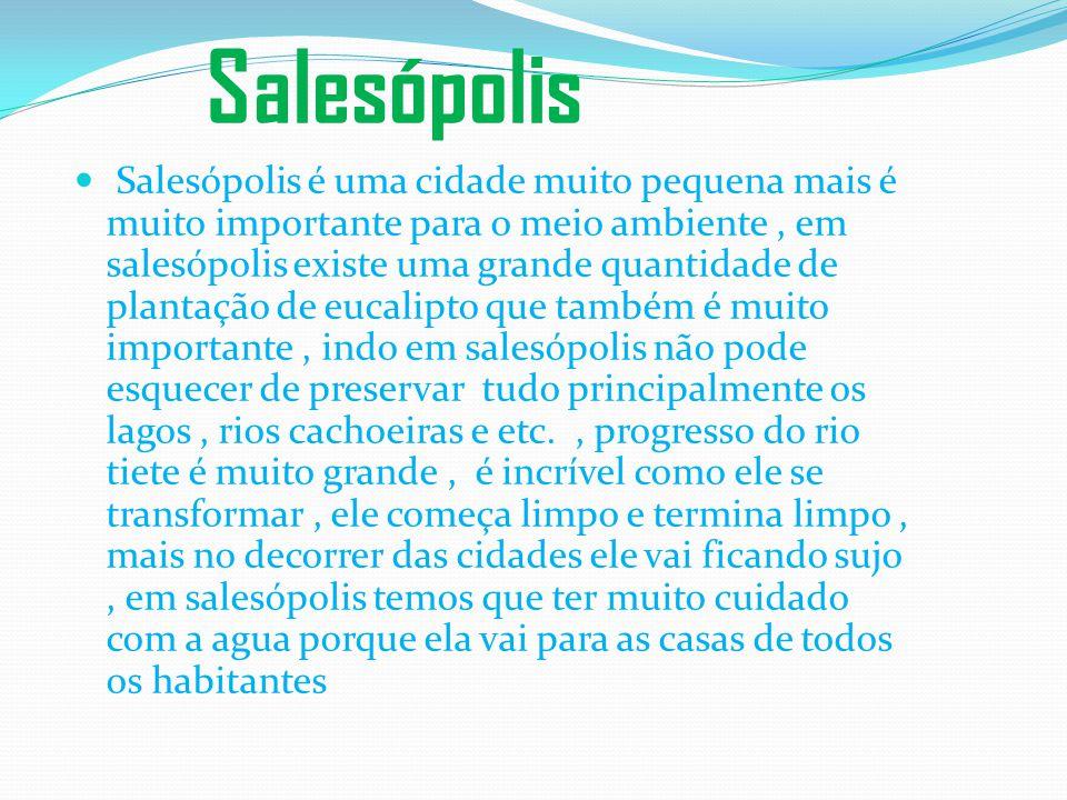 População Salesópolis é um município brasileiro do estado de São Paulo, localizado na região metropolitana da capital paulista. A população estimada e
