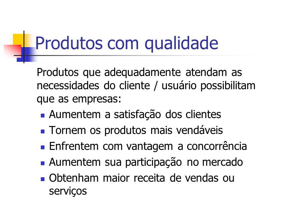 Custos das falhas internas Custos resultantes da incapacidade de um produto ou serviço satisfazer as exigências da qualidade antes de ser fornecido ao cliente.