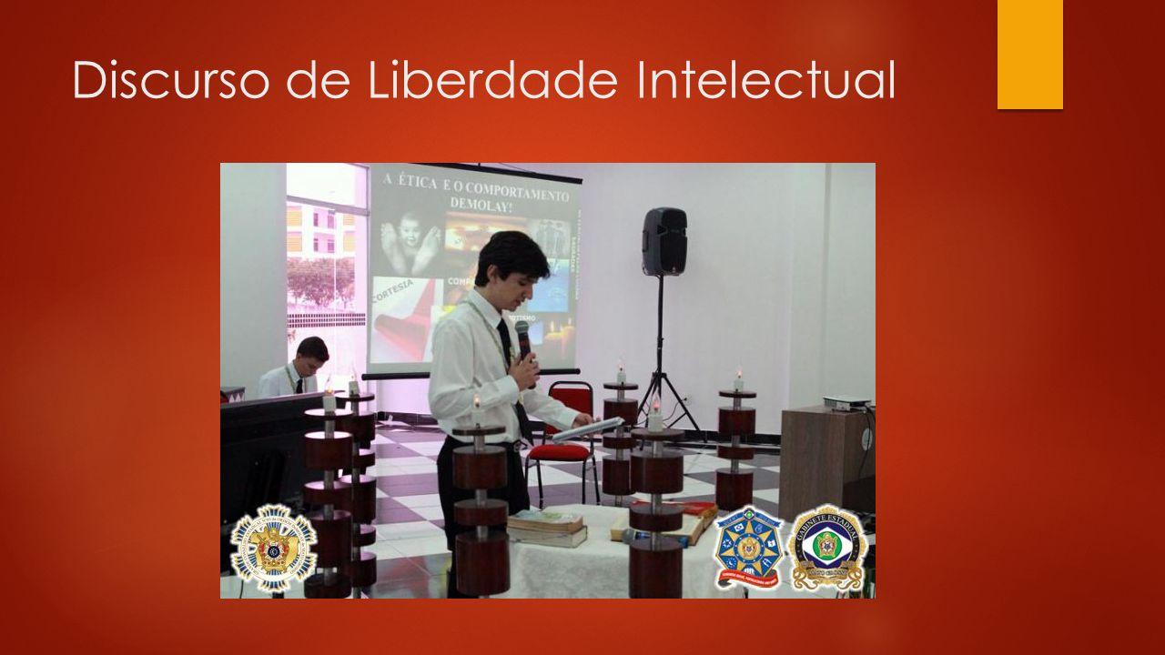 Discurso de Liberdade Intelectual