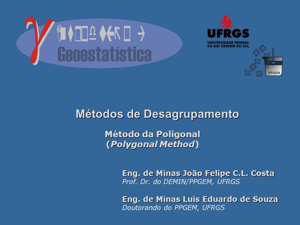 Métodos de Desagrupamento Método da Poligonal (Polygonal Method) Eng.