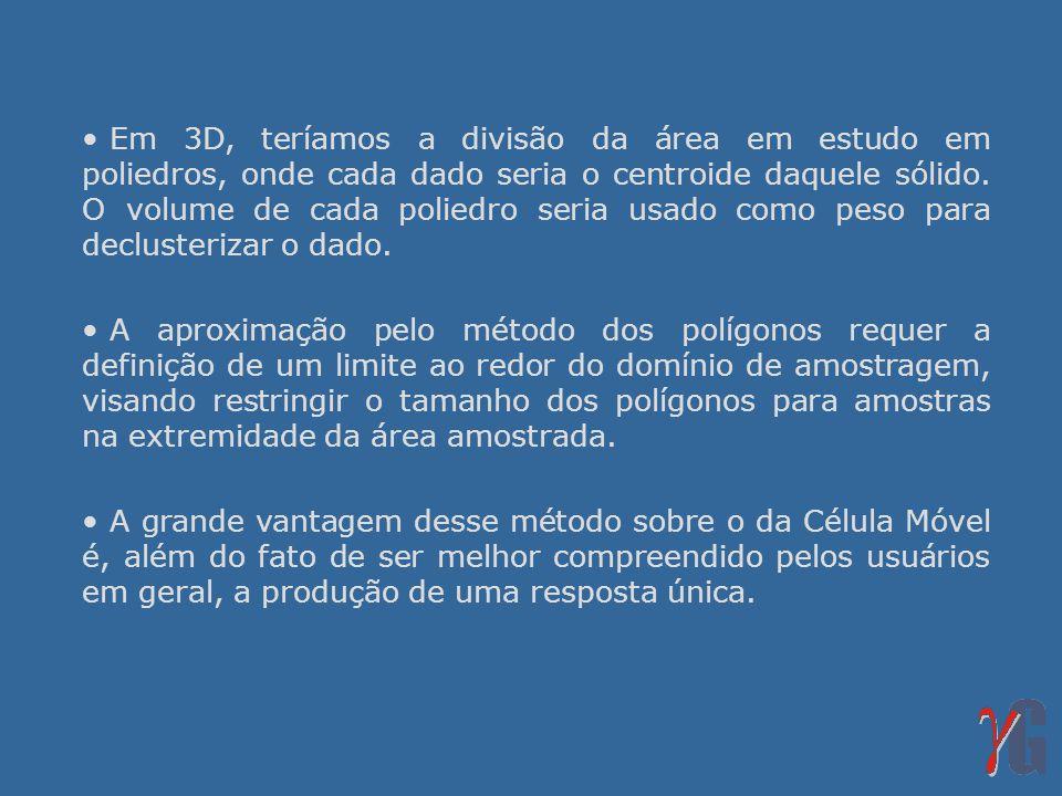 Referências Bibliográficas ISAAKS, E.H.& SRIVASTAVA, M.R.