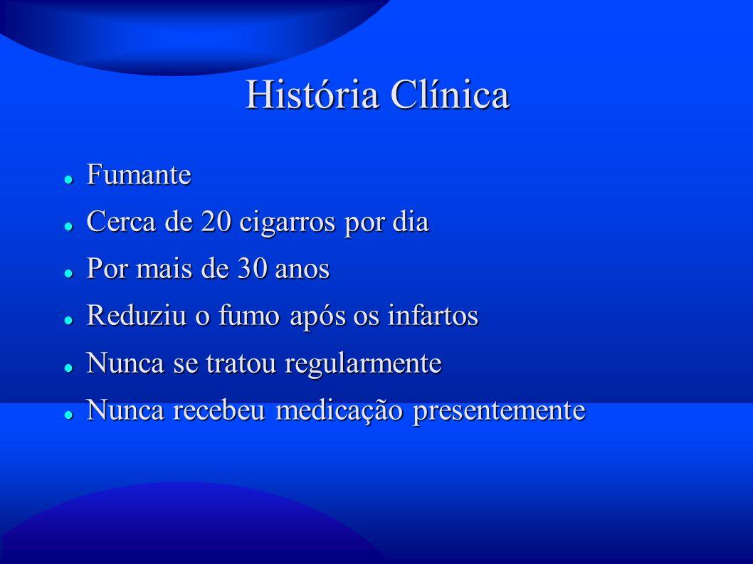 Exame Físico PA: 130/90 mmHg PA: 130/90 mmHg FR: 44 mpm FR: 44 mpm FC: 120 bpm FC: 120 bpm Tax: 35,5 ° C Tax: 35,5 ° C