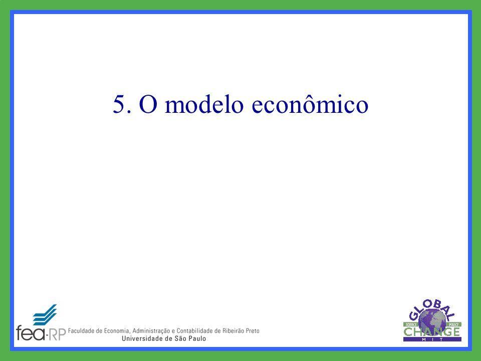 5. O modelo econômico