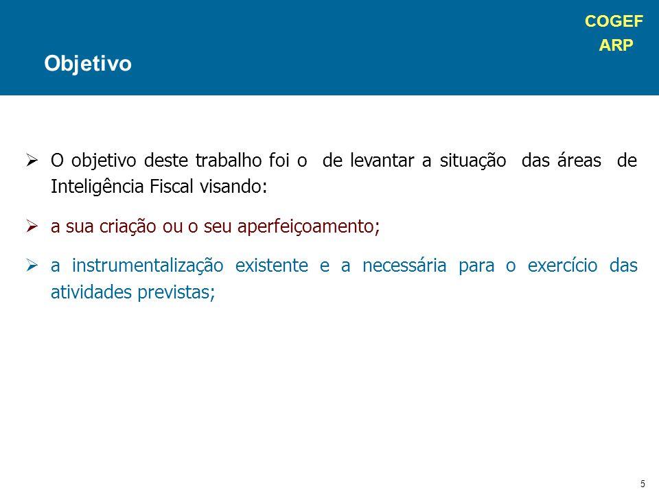 COGEF ARP 36 Estrutura UnIF – Paraná