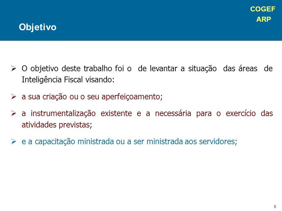 COGEF ARP 57 Estrutura UnIF – Rio Grande do Sul