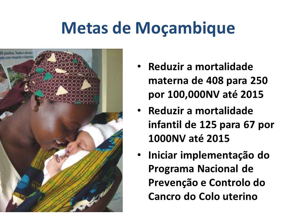 MCHIP – Moçambique Contexto O Sr Ministro solicitou apoio ao Jhpiego para a implementação de actividades relacionadas à SMN e à prevenção do cancro do colo uterino Com base no Plano Integrado, nas recomendações da reunião sobre o alcance dos ODMs 4&5 ocorrida em Fev 2009 e no relatório dos padrinhos foi desenvolvida a proposta de actividades para este Projecto