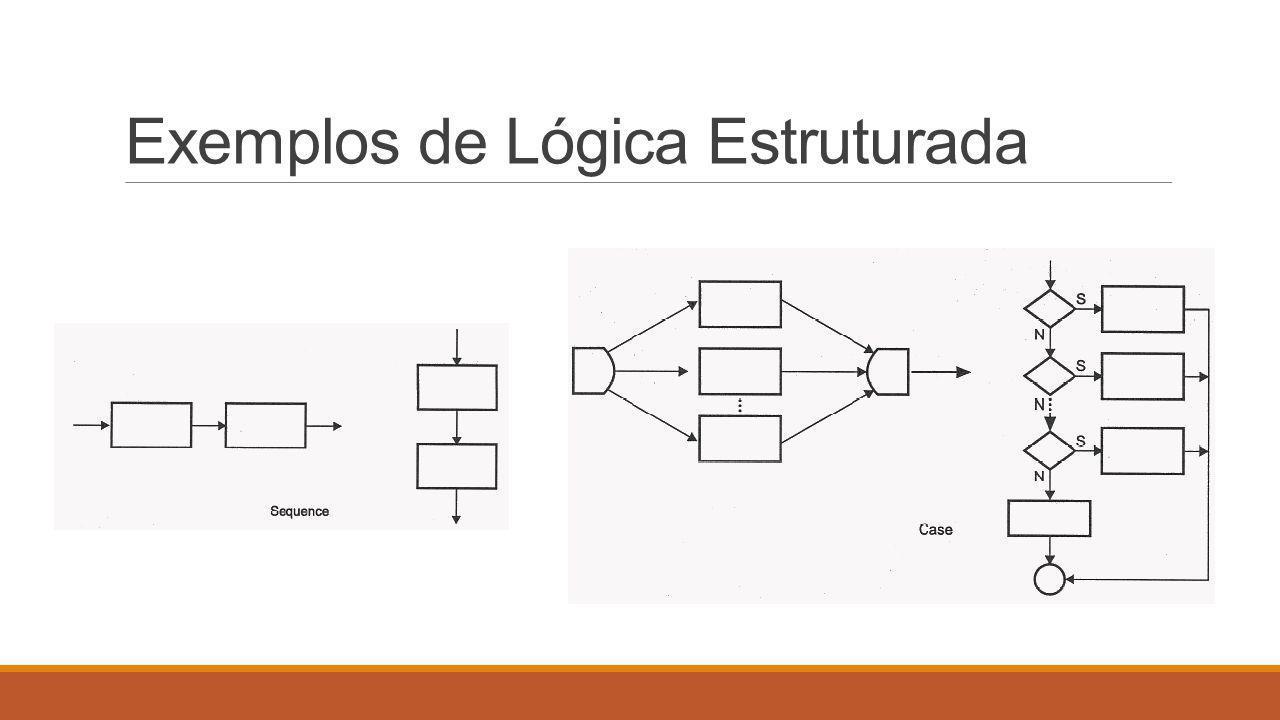 Exemplos de Lógica Estruturada