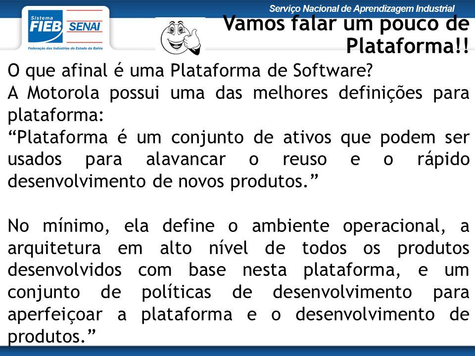 O que afinal é uma Plataforma de Software.