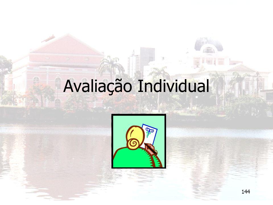 144 Avaliação Individual