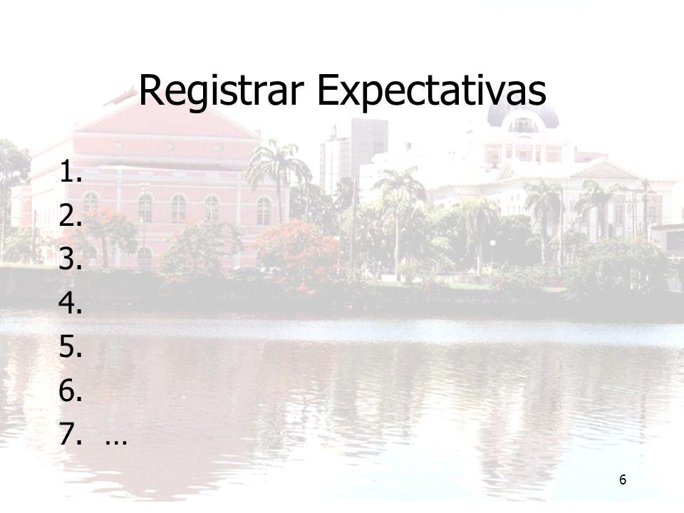 6 Registrar Expectativas 1. 2. 3. 4. 5. 6. 7.…
