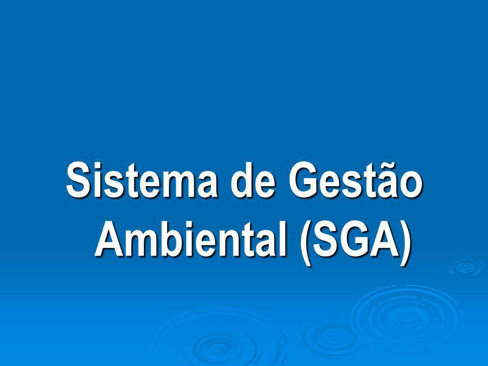 Sistema de Gestão Ambiental (SGA)
