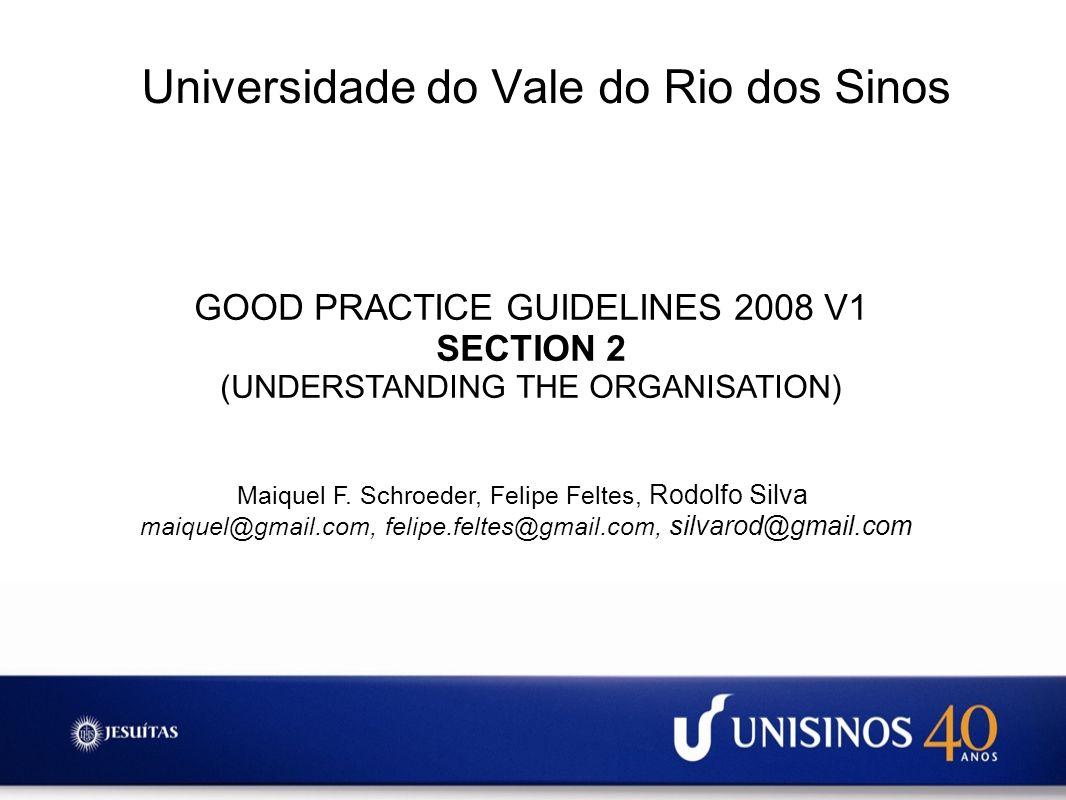 Sobre a Seção 2 Compreender a organização é um elemento chave de uma boa gestão de Continuidade de Negócios.